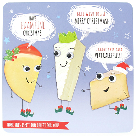 Hope This isn't too cheesy for you - Funny Christmas Card