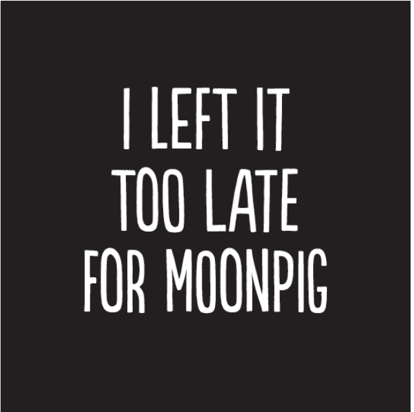 I left it too late for moonpig - funny birthday card