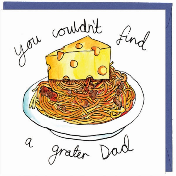Couldn't find a grater Dad - Funny Father's Day Card