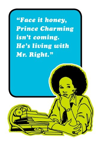 Prince charming - funny gay card