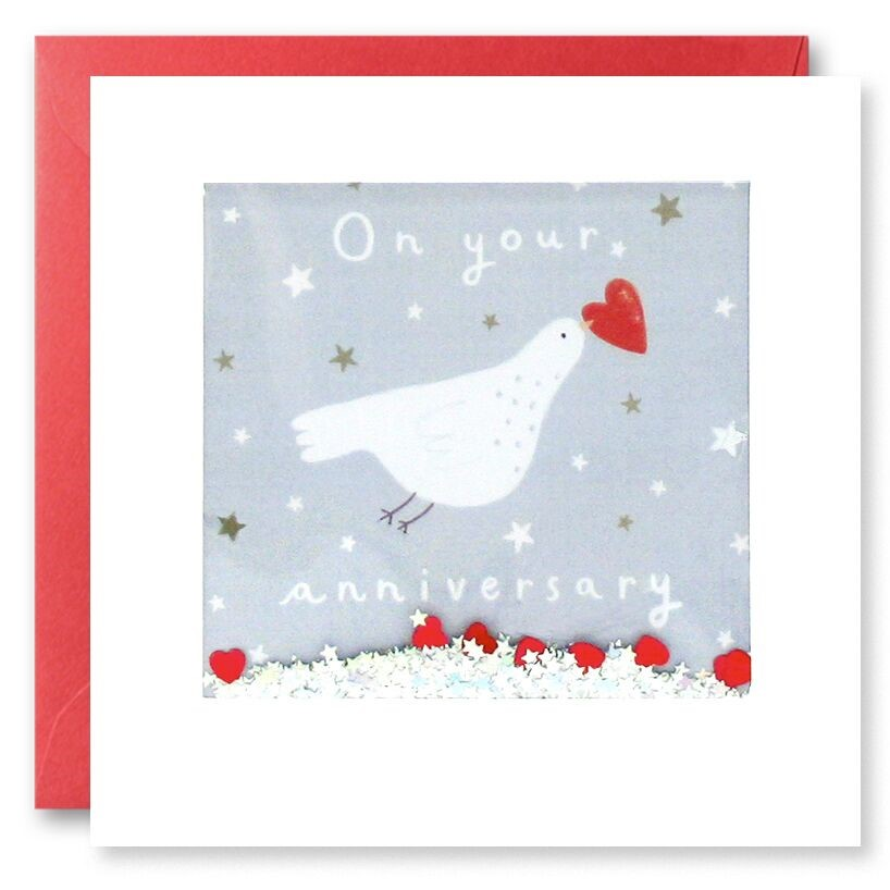On your anniversary - Dove anniversary card